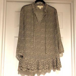 Clover print tunic